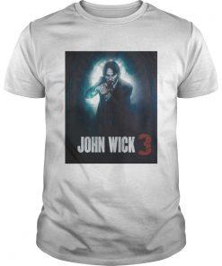 Guys John Wick 3 Parabellum 2019 Movie shirt
