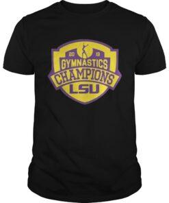 Guys LSU Tigers 2019 SEC Gymnastics Champions shirt