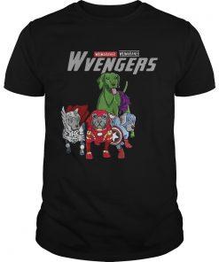 Guys Marvel Avengers Weimaraner Wvengers shirt