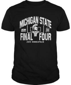 Guys Michigan State Spartans Final Four 2019 Minneapolis shirt