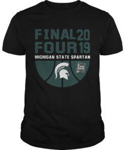 Guys Michigan State Spartans Final Four 2019 shirt