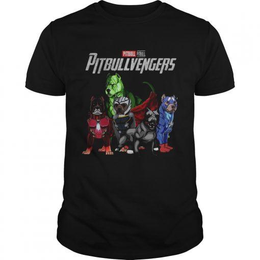 Guys Pitbull Pitbullvengers Shirt