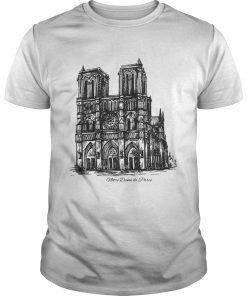 Guys Pray For NotreDame Cathedral shirt
