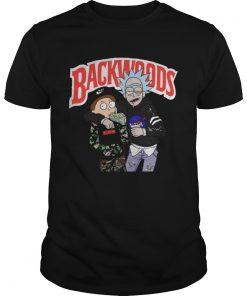 Guys Rick and Morty Backwoods shirt