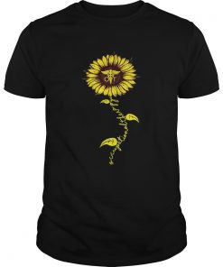 Guys Sunflower Occupational therapy Nurse shirt
