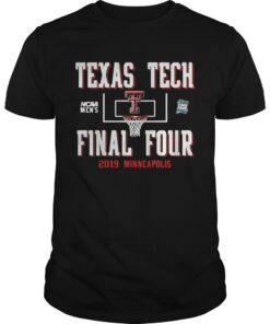 Guys Texas Tech Red Raiders Final Four 2019 Minneapolis shirt