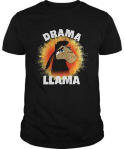 Guys The Emperors New Groove Kuzco Llama Drama Llama shirt