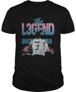 Guys The Legend Dwyane Wade 3 shirt