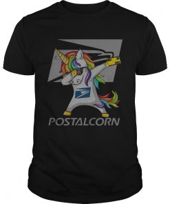 Guys Unicorn Dabbing postalcrn shirt