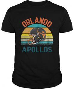 Guys Vintage Orlando Football Apollos shirt