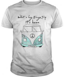 Guys What a long strange trip its been Hippie shirt
