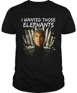 Guys Where are My Elephants Funny Cersei Got shirt