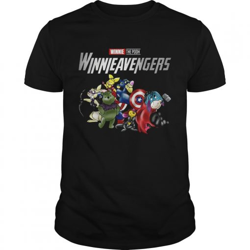 Guys Winnieavengers Winnie the pooh Avengers shirt