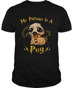 Harry potter my patronus is a Pug shirt