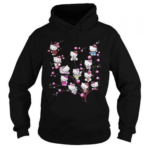 Hello Kitty pussy willows hoodie
