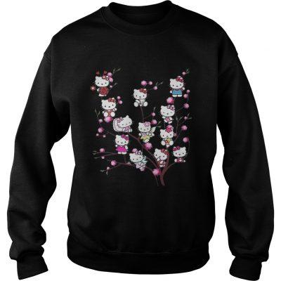 Hello Kitty pussy willows sweatshirt