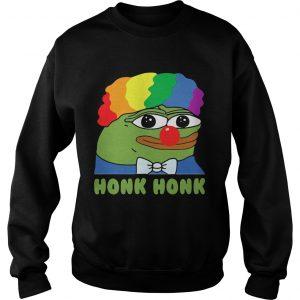 LGBT Clown Pepe Honk Honk Sweatshirt