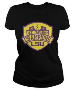 LSU Tigers 2019 SEC Gymnastics Champions ladies tee