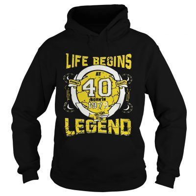 Life begins at 40 born in 1979 the year of the legend Hoodie