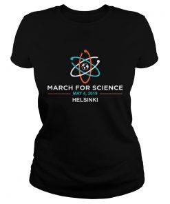 March for Science 2019 Helsinki ladies tee
