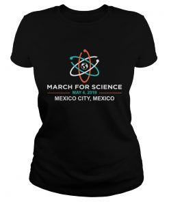 March for Science 2019 Mexico City ladies tee
