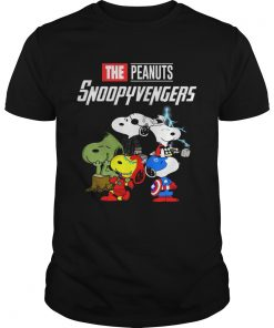 Marvel Avengers Endgame the peanuts snoopy Avengers tshirt