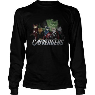 Marvel Catvengers avengers longsleeve tee