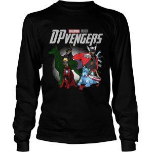 Marvel Doberman Pinscher DPvengers longsleeve tee
