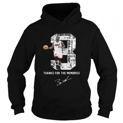 Miami Dwyane Wade Thank You For The Memories hoodie