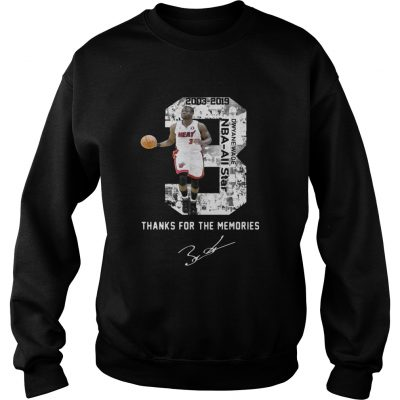 Miami Dwyane Wade Thank You For The Memories sweatshirt