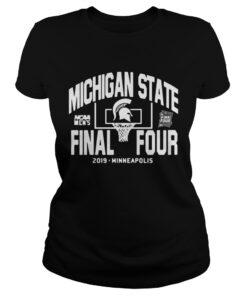 Michigan State Spartans Final Four 2019 Minneapolis ladies tee