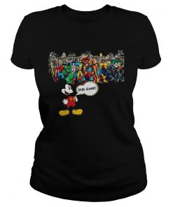 Mickey mouse Marvel Endgame ladies tee