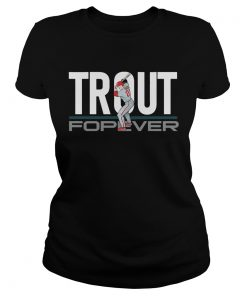 Mike Trout Forever ladies tee