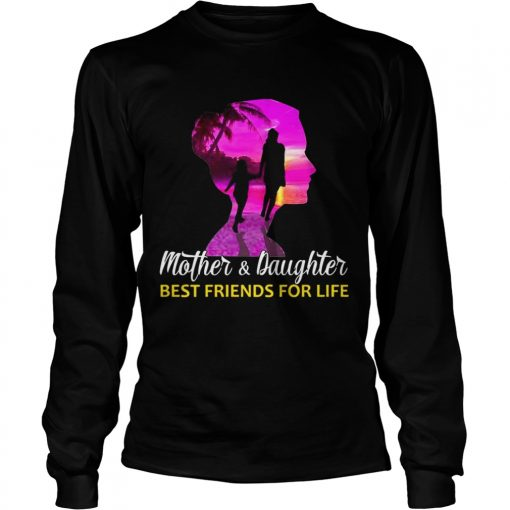 MotherDaughter Best Friends For Life longsleeve tee