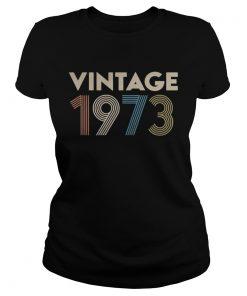 Official vintage 1973 ladies tee
