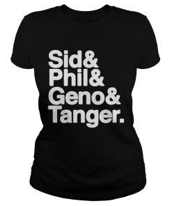 Pittsburgh Sid Phil Geno Tanger ladies tee