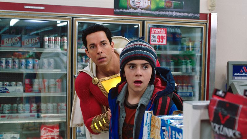 Review Shazam gives the overworked superhero genre a fun irreverent lift