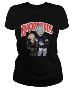 Rick and Morty Backwoods ladies tee