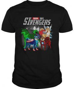 Shiba Inu Sivengers avengers endgame shirt