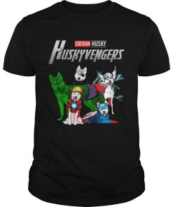 Siberian Husky Huskyvengers Avengers Endgame shirt