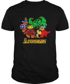 Slothvengers sloth Avengers Endgame shirt