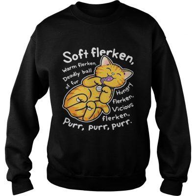 Soft flerken warm flerken deadly ball of fur hungry flerken vicious sweatshirt