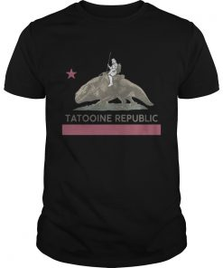 Star wars Tatooine republic shirt