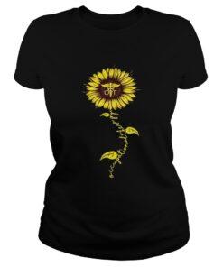 Sunflower Occupational therapy Nurse ladies tee