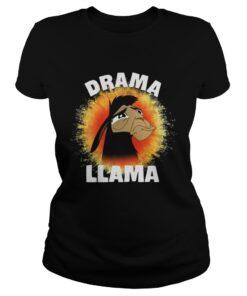 The Emperors New Groove Kuzco Llama Drama Llama ladies tee