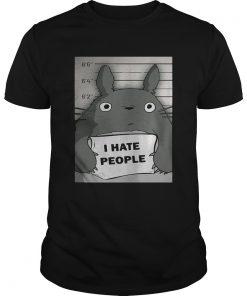 Totoro I hate people shirt