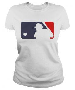 USA Donald Trump live love baseball ladies tee