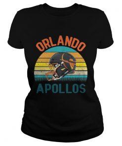 Vintage Orlando Football Apollos ladies tee