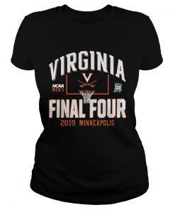 Virginia Final Four 2019 Minneapolis ladies tee