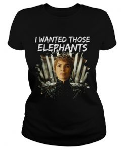 Where are My Elephants Funny Cersei Got ladies tee